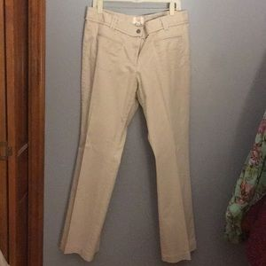 LOFT Khaki Dress Pants